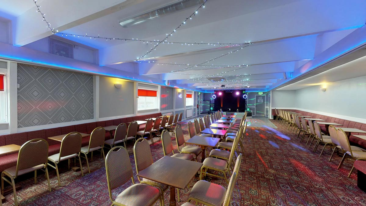 Sankey Suite - Function room for hire in Warrington - Eagle Sports & Social Club