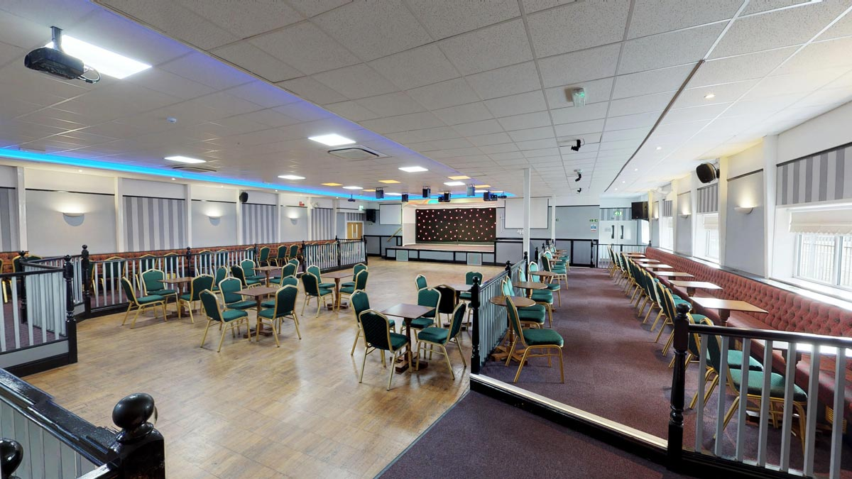 Penketh Suite - Function room for hire in Warrington - Eagle Sports & Social Club